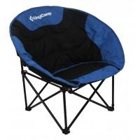 Кресло складное (сталь) 3816 Moon Leisure Chair (84Х70Х80  синяя пальма)