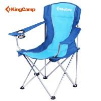 Кресло складное (сталь) 3818 Arms Chair (84Х50Х96    синий)