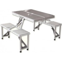 Набор складной мебели (алюминий) 3864 Delux table/Chair Set (136Х86Х67)