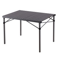 Стол складной (алюминий) 3866 Compact Folding Table (Alum 107х70х70см)