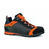 Трекинговые ботинки 615 WP (серый/лайм)