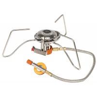 Портативная газовая горелка со шлангом и пьезоподжигом FMS-104