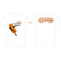 Футболка CASSIN ICE-CREAM LOVERS / LARGE WHITE