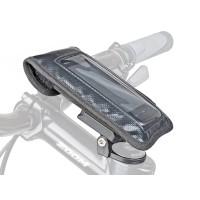 Сумочка/чехол на вынос A-H810 д/смартфона 125х75мм влагозащ б/съемн. черная