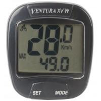 Велокомп. 15 ф-ций беспровод. счетчик калорий черный (20) VENTURA XV W