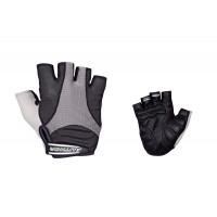 Перчатки Men Elite Gel черные р-р S гель/лайкра/синт.кожа с петельками (20) AUTHOR