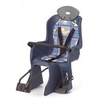 Сиденье детское на подсед. штырь с поручнем и с подголов до 22кг 310*670*310мм (6) синее