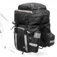 """Сумка """"штаны"""" на багаж. Tourer """"3в1""""с плеч. ремнем V=40л водонепрониц. черная AUTHOR"""