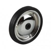 Колеса запасные балансирные (пара, без крепежа) металлические 128мм хромир.(50)