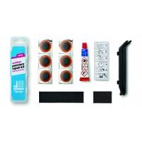 Аптечка 6 суперзаплаток+клей+шкурка+2монтировки (12) WELDTITE (Англия)