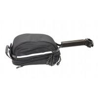 Сумка+багаж 2отдел. V=6л с чехлом черная+багаж. на подсед. штырь, с эксцентр. CD-230 OSTAND