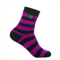 Водонепроницаемые носки DexShell Ultralite Bamboo Sock Black-Pink