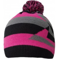 Водонепроницаемая шапка DexShell, розовая с бубоном (DH352-PS)