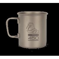 Титановая кружка NZ Ti Cup 450 ml