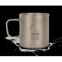 Титановая термокружка NZ Ti Double Wall Mug 600 ml