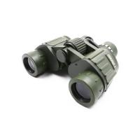 Бинокль 8х40, зеленый-защитный, 170*60*145 мм, 655 г, в чехле