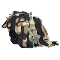 S059 Camouflage Rastafarian нашлемник