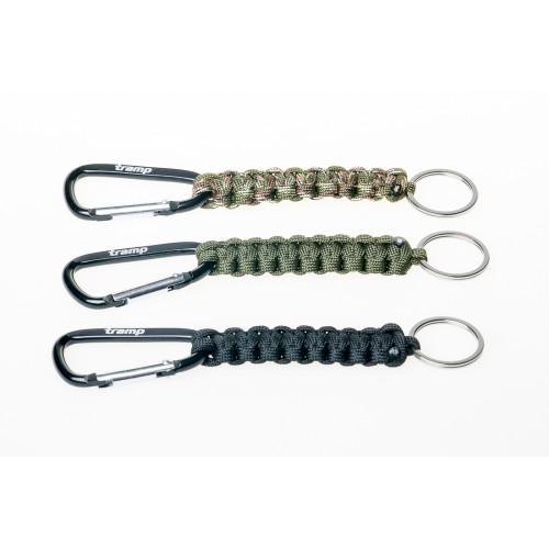 брелок паракордовый для ключей (карабин/кольцо для ключей)