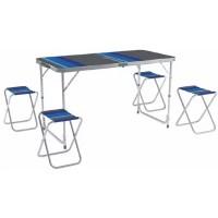 Комплект мебели ZAGOROD В 103 (4 стула, стол складной)