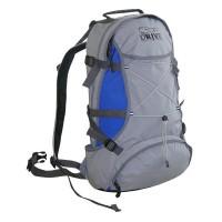 Туристический рюкзак Терра Актив 35л сер/гол с чехлом от дождя