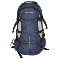 Туристический рюкзак Терра Актив 35л чер/сер с чехлом от дождя