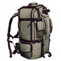 Туристический рюкзак Альпина 2 супер (с карманами) зел.