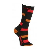 Горнолыжные носки MUND 1 Skiing Junior носки, 12 - чёрный (XS 24-28)