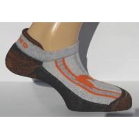 806 Invisible Rizo носки, 1- серый (M 36-40)