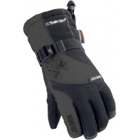 GT-12 Перчатки Gore-Tex женские (L, черно-розовый)