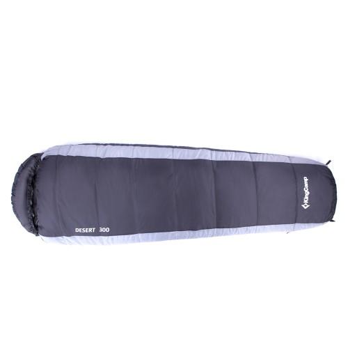 Спальный мешок 3138 DESERT 300 215x80x55 (-15С, синий, правый)