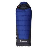 Спальный мешок 3150 EXPLORER 250 210x75 (-5С, синий, правый)