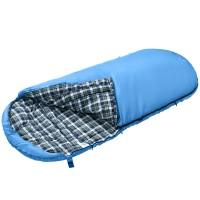 Спальный мешок 3168 FREE SPACE 250 220x110 (-7С, синий, левый)