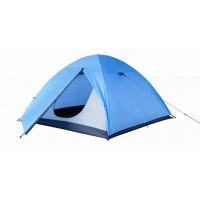 Туристическая двухместная палатка KingCamp HIKER Fiber (2, синий)