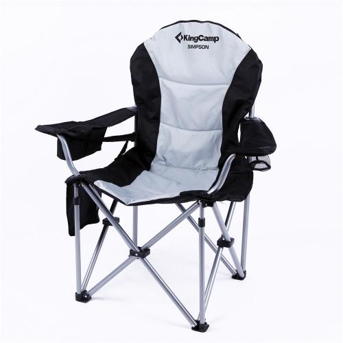 Кресло складное (сталь) 3888 Delux Steel Arms Chair (97x60x105)