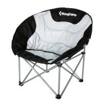 Кресло складное (сталь) 3889 Deluxe Moon Chair (86x69x80 серый)