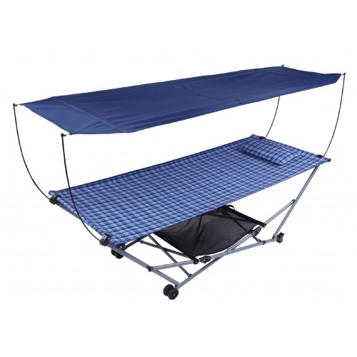 Гамак складной 3751P Steel Folding Hammock 210*86*70