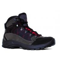 Трекинговые ботинки Garsport EGYPT TEX (тёмно-серый/красный)