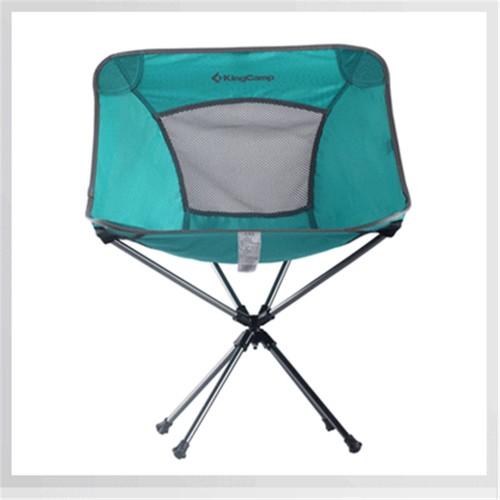 Кресло (алюминий) 3951 Rotation Packlight Chair (55Х58Х38/70 бирюза)