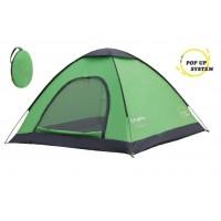 Однослойная палатка 2 для кемпинга и отдыха KingCamp 3036 MODENA (2, зелёный)