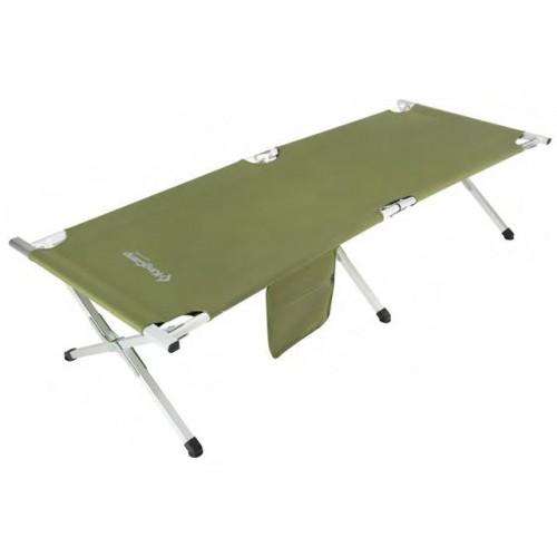 Кровать складная (алюминий) 3806A Armyman Camping Bed (зеленый 190Х63Х42)