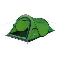Однослойная туристическая палатка с системой быстрой установки Campo