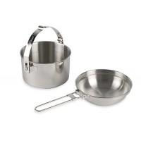 Набор посуды из двух предметов TATONKA Kettle 1,0