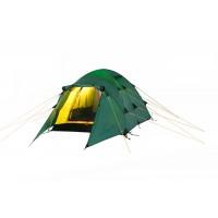 Трехместная туристическая палатка с ветроустойчивой конструкцией Nakra 3