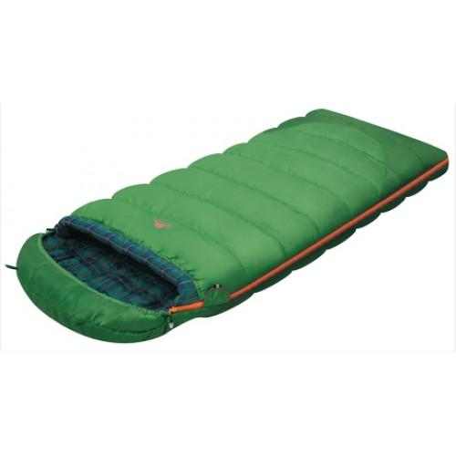 Спальник-одеяло c подголовником для кемпинга и туризма Siberia Plus