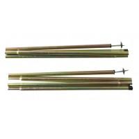 Набор стальных стоек Alexika Steel poles set 1,6x170 cm