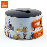 Набор посуды из алюминия с фарфоровой эмалировкой и антипригарным покрытием Fire-Maple FMC-K8 Набор посуды