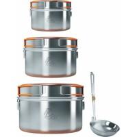 Набор посуды Nova Tour из 3-х кастрюль 0,9-1,5-2,4 л SS-006