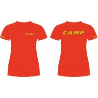 Футболка CAMP INSTITUTIONAL FEMALE / LARGE RED