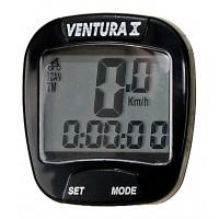 Велокомп. 10 ф-ций (120) черный VENTURA Х