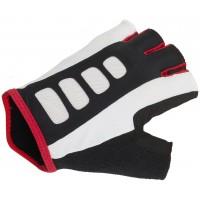 Перчатки Men ARP 14A черно-бело-красные р-р S гель/лайкра/синт. кожа с петельками AUTHOR
